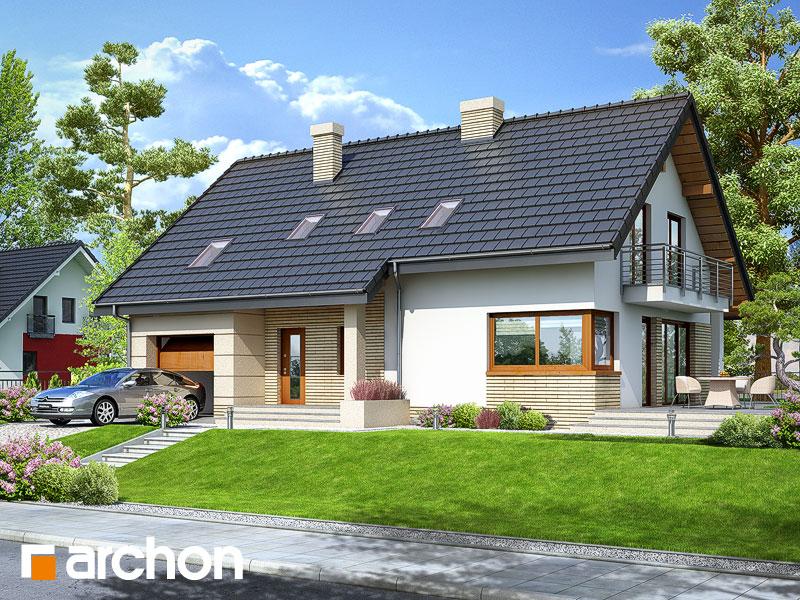 gotowy projekt Dom w idaredach 2 widok 1