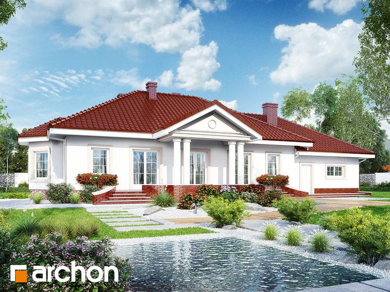 gotowy projekt Dom w gaurach (G2) widok 1