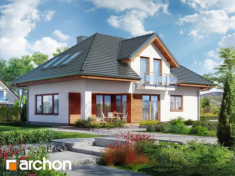 gotowy projekt Dom w kosodrzewinie widok 1