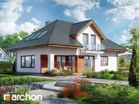 projekt Dom w kosodrzewinie widok 1