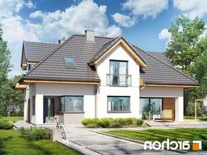projekt Dom w majeranku (N) lustrzane odbicie 1