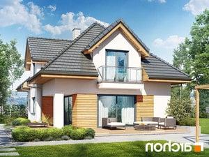 projekt Dom w majeranku (N) lustrzane odbicie 2