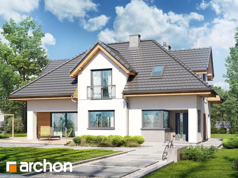 gotowy projekt Dom w majeranku (N) widok 1
