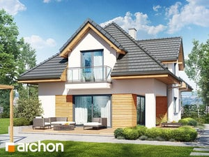 projekt Dom w majeranku (N) widok 2