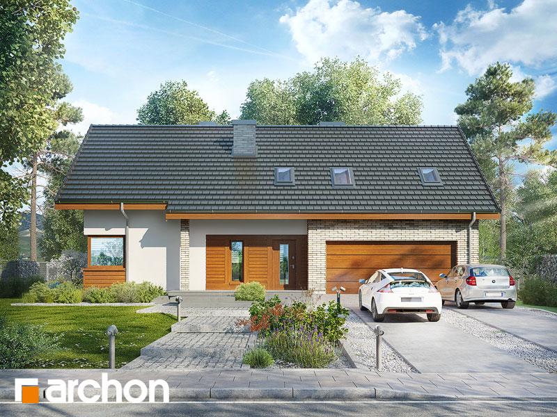 gotowy projekt Dom w złoci 4 (G2T) widok 1