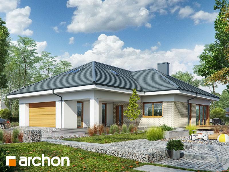 gotowy projekt Dom w araukariach 2 (G2) widok 1