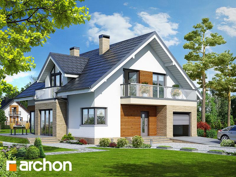 gotowy projekt Dom w tymianku 5 widok 1