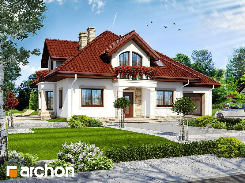 gotowy projekt Dom w tymianku 4 widok 1
