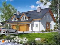 Widok 1 projekt blizniak w jednej dokumentacji dom w klematisach 17 b ver 2 1575373401  259