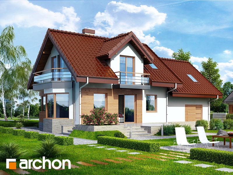 gotowy projekt Dom w perłówce (G2N) widok 1