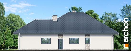 Elewacja boczna projekt dom w renklodach 2  265