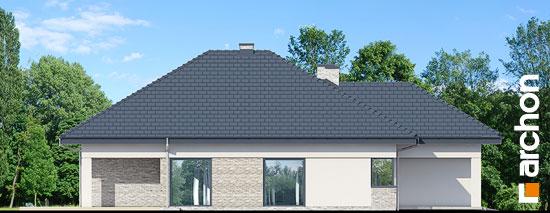 Elewacja boczna projekt dom w renklodach 2  266