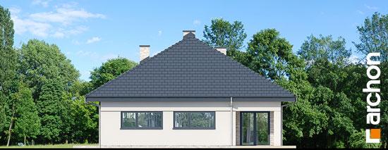 Elewacja ogrodowa projekt dom w renklodach 2  267