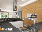 projekt Dom w renklodach 2 Wizualizacja kuchni 1 widok 1