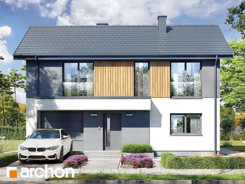 gotowy projekt Dom w iberisach 2 (G) widok 1