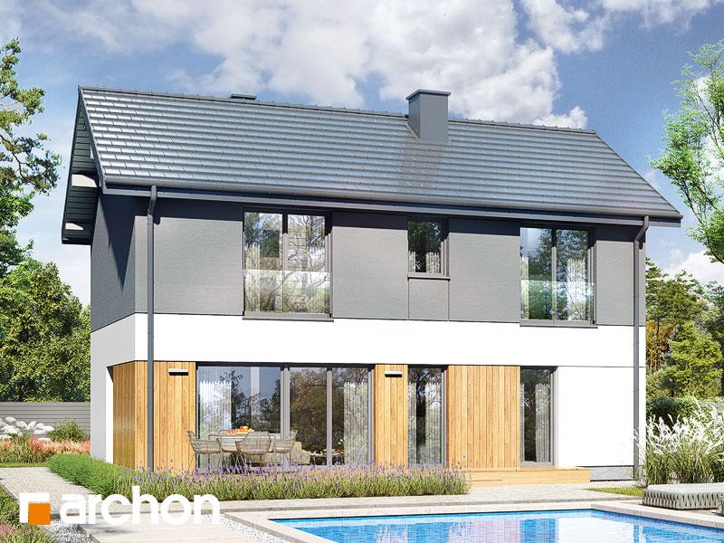 gotowy projekt Dom w iberisach 2 (G) widok 2