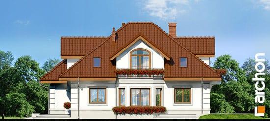 Elewacja boczna projekt dom w bergamotkach g2 ver 2  265