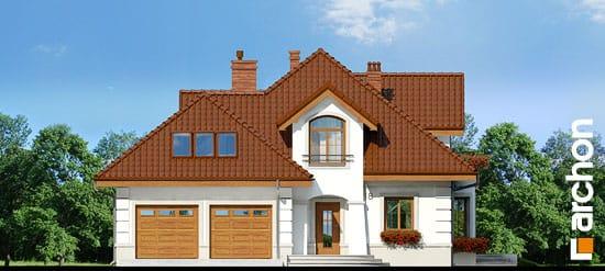 Elewacja frontowa projekt dom w bergamotkach g2 ver 2  264