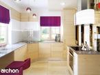 projekt Dom w bergamotkach (G2) Aranżacja kuchni 2 widok 3