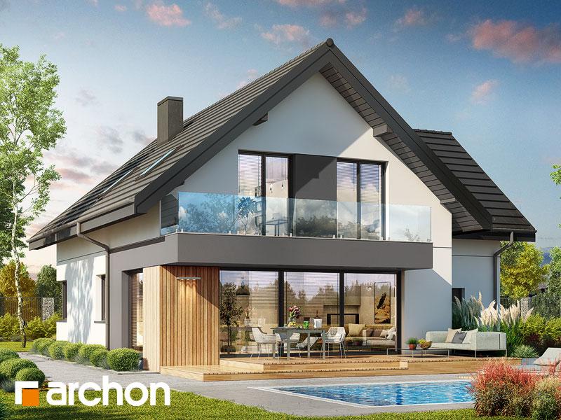 gotowy projekt Dom w strelicjach 2 (G) widok 1
