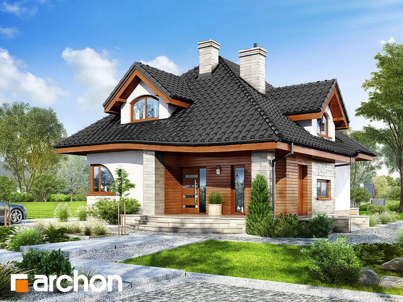 gotowy projekt Dom w zefirantach 2 widok 1