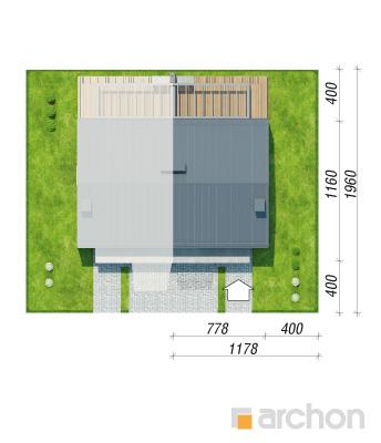 projekt Dom w narcyzach (BT) sytuacja