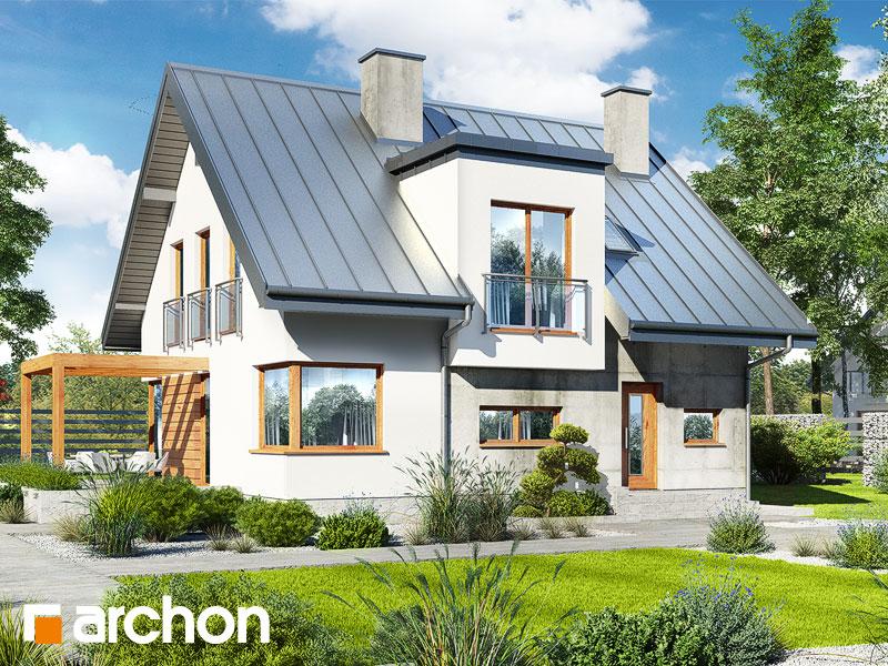 gotowy projekt Dom w amarylisach 5 (W) widok 1