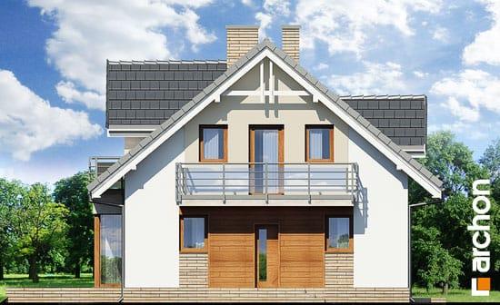 Elewacja frontowa projekt dom w rododendronach 5 wpn  264
