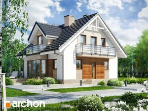 projekt Dom w rododendronach 5 (WPN)