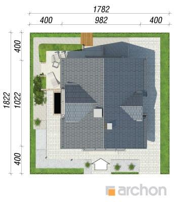 projekt Dom w rododendronach 5 (WPN) sytuacja