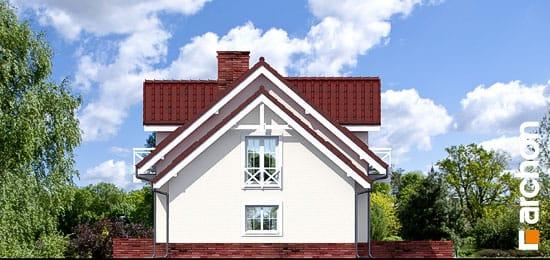 Elewacja boczna projekt dom w rododendronach 6 g2p ver 2  265