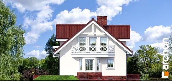 Elewacja boczna projekt dom w rododendronach 6 g2p ver 2  266