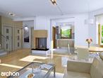 projekt Dom w rododendronach 6 (G2P) Strefa dzienna (wizualizacja 1 widok 1)