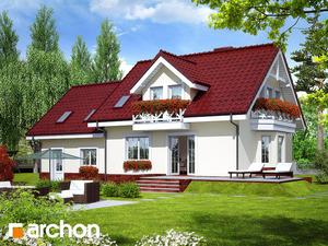 projekt Dom w rododendronach 6 (G2P) widok 2