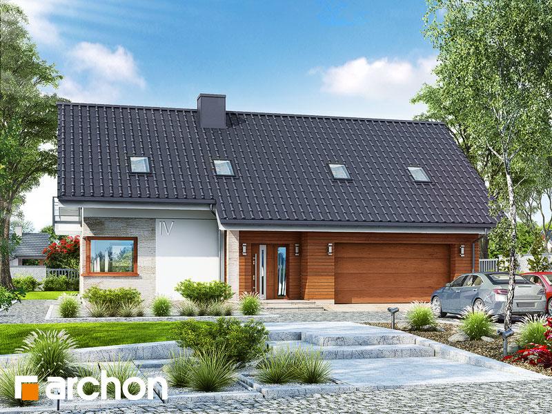 gotowy projekt Dom w orszelinach (G2) widok 1