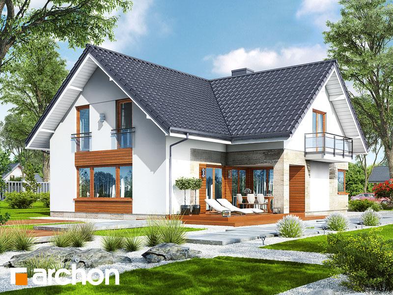 gotowy projekt Dom w orszelinach (G2) widok 2