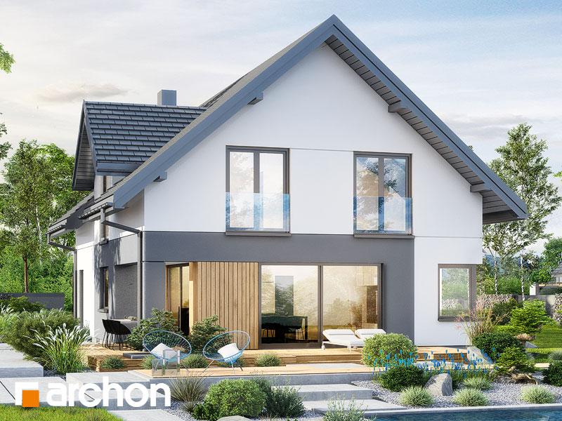 gotowy projekt Dom w zdrojówkach 15 (E) widok 2