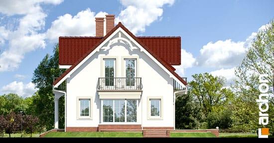 Elewacja boczna projekt dom w werbenach 2 ver 2  265