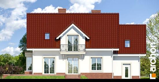 Elewacja ogrodowa projekt dom w werbenach 2 ver 2  267