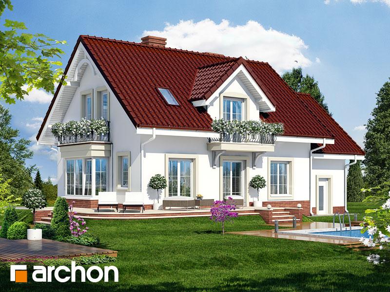 gotowy projekt Dom w werbenach 2 widok 1