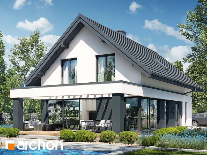 gotowy projekt Dom w szyszkowcach 7 widok 1