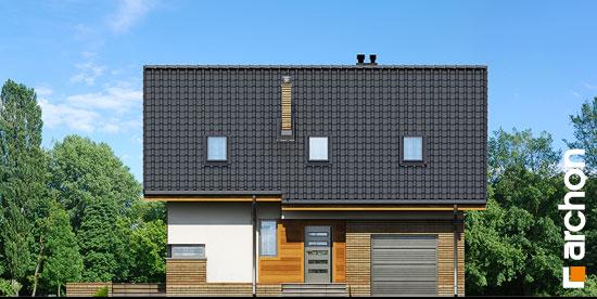 Elewacja frontowa projekt dom pod liczi ver 2  264
