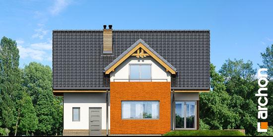 Elewacja ogrodowa projekt dom pod liczi ver 2  267