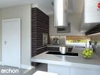 projekt Dom pod liczi Aranżacja kuchni 1 widok 2