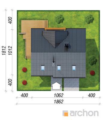 projekt Dom pod liczi sytuacja