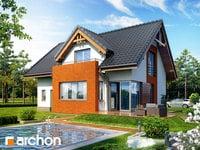 projekt Dom pod liczi widok 1