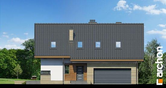 Elewacja frontowa projekt dom pod liczi g2 ver 2  264