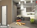 projekt Dom pod liczi (G2) Aranżacja kuchni 1 widok 3