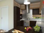 projekt Dom pod liczi (G2) Wizualizacja kuchni 1 widok 2
