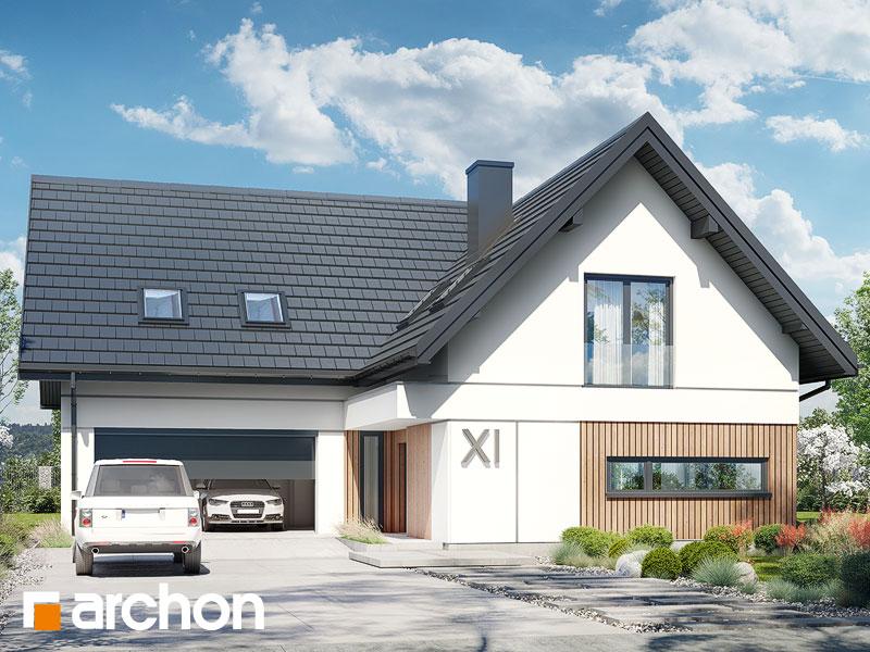 gotowy projekt Dom w bartoniach (G2) widok 1